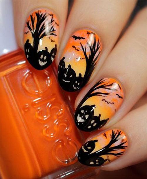 18-best-black-halloween-nails-art-designs-ideas-2016-5
