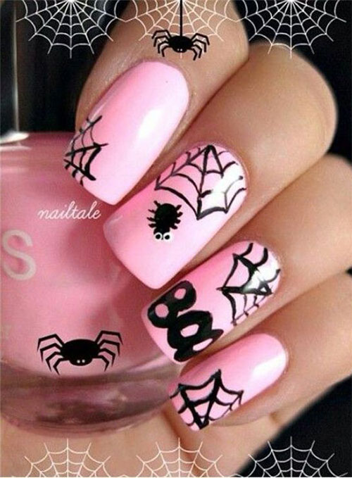 18-best-black-halloween-nails-art-designs-ideas-2016-6