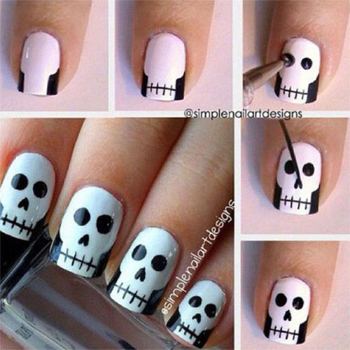 18-best-easy-halloween-nails-art-tutorials-for-beginners-learners-2016-3