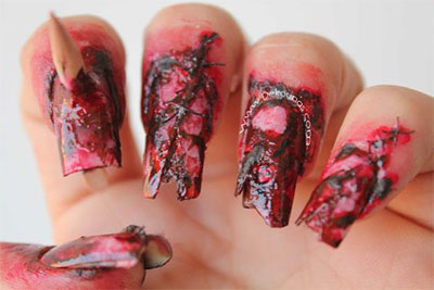 20-Zombie-Nail-Art-Designs-Ideas-2016-Halloween-Nails-11
