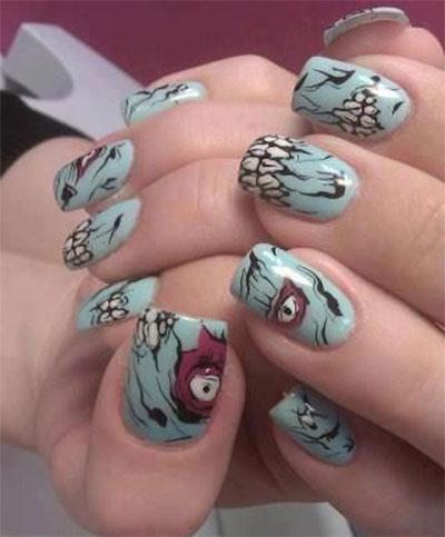 20-Zombie-Nail-Art-Designs-Ideas-2016-Halloween-Nails-19