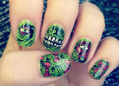 20-Zombie-Nail-Art-Designs-Ideas-2016-Halloween-Nails-7