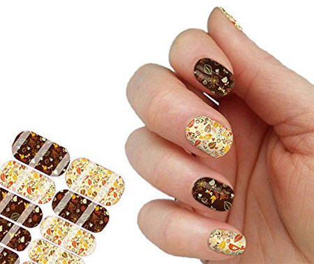10 Autumn Nail Art Stickers & Decals 2016 | Fabulous Nail Art Designs