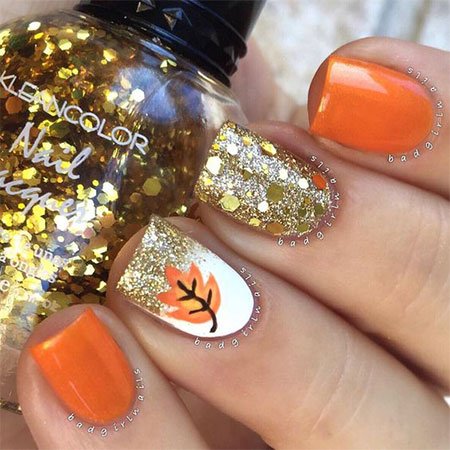 12 Easy Autumn Nail Art Designs & Ideas 2016 | Fall Nails ...