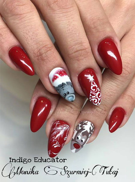 15-christmas-gel-nails-art-designs-ideas-2016-1
