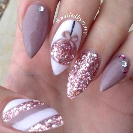 15 Christmas Gel Nails Art Designs Amp Ideas 2016 Fabulous Nail Art Designs