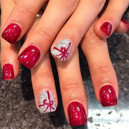 15 christmas gel nails art designs ideas 2016 fabulous nail art designs