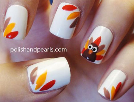 18-turkey-nail-art-designs-ideas-2016-thanksgiving-nails-13