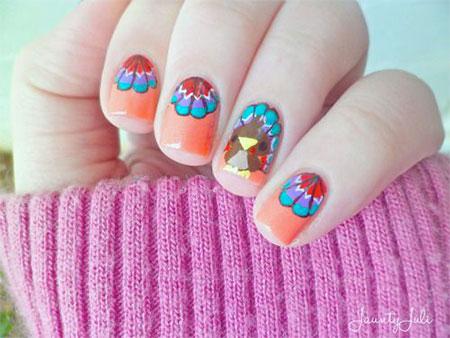 18-turkey-nail-art-designs-ideas-2016-thanksgiving-nails-14