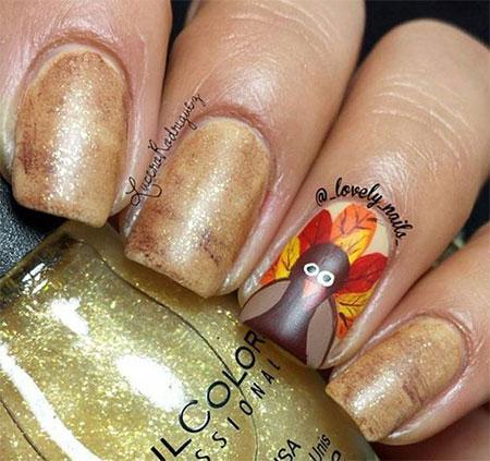 18-turkey-nail-art-designs-ideas-2016-thanksgiving-nails-7