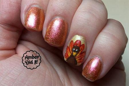 18-turkey-nail-art-designs-ideas-2016-thanksgiving-nails-8