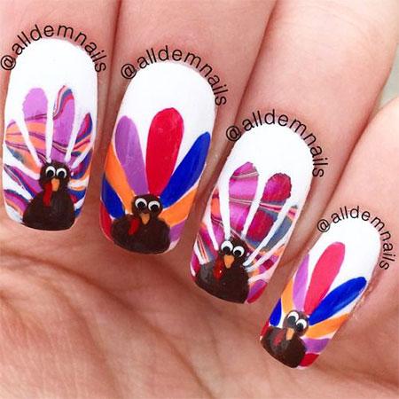 18-turkey-nail-art-designs-ideas-2016-thanksgiving-nails-9
