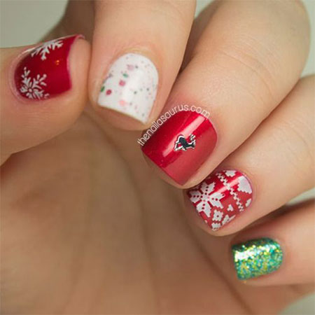 20-easy-cute-christmas-nails-art-designs-ideas-2016-14