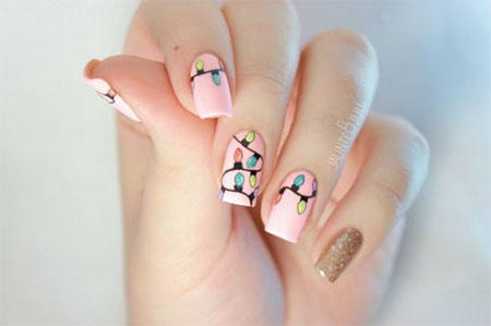 20-easy-cute-christmas-nails-art-designs-ideas-2016-18