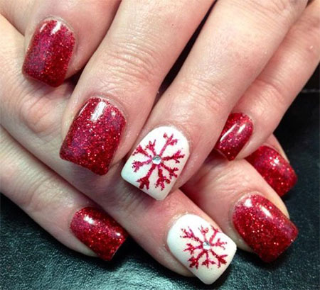 20-easy-cute-christmas-nails-art-designs-ideas-2016-21