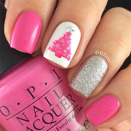 20-easy-cute-christmas-nails-art-designs-ideas-2016-3