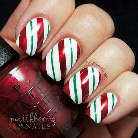 20 easy cute christmas nails art designs ideas 2016 5 fabulous nail art designs 20 easy cute christmas nails art