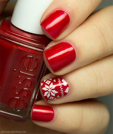 20-easy-cute-christmas-nails-art-designs-ideas-2016-7