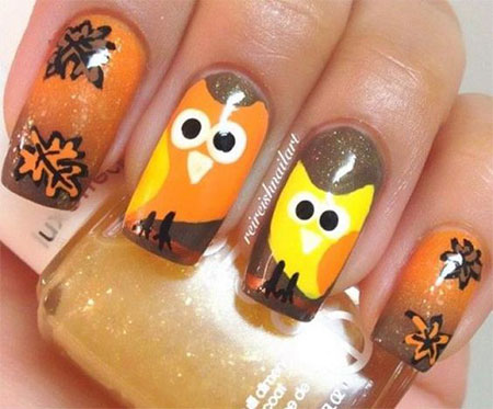 Nail Art For Thanksgiving Gallery Easy Nail Designs For Beginners