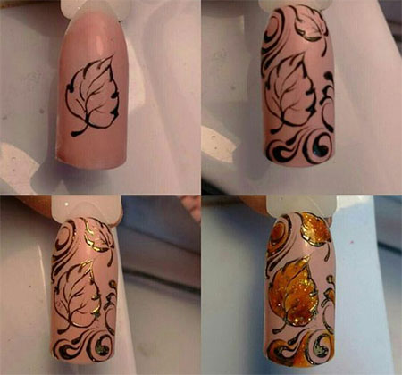 easy-simple-autumn-nail-art-tutorials-for-beginners-2016-6