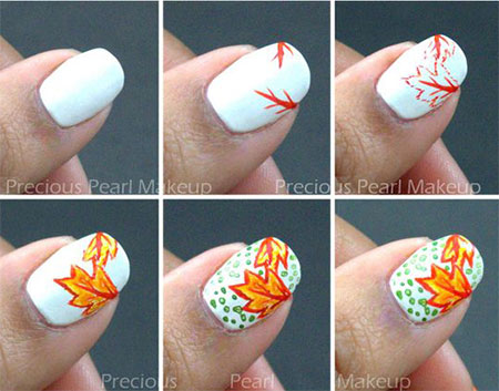 easy-simple-autumn-nail-art-tutorials-for-beginners-2016-8