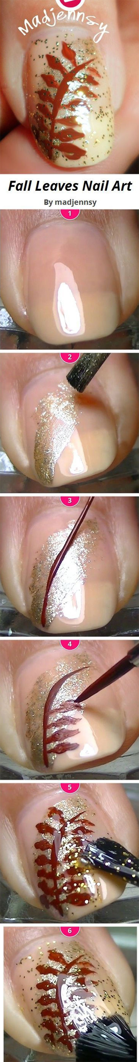 easy-simple-autumn-nail-art-tutorials-for-beginners-2016-9