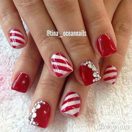 12-red-green-white-christmas-nail-art-designs-ideas-2016-xmas-nails-1