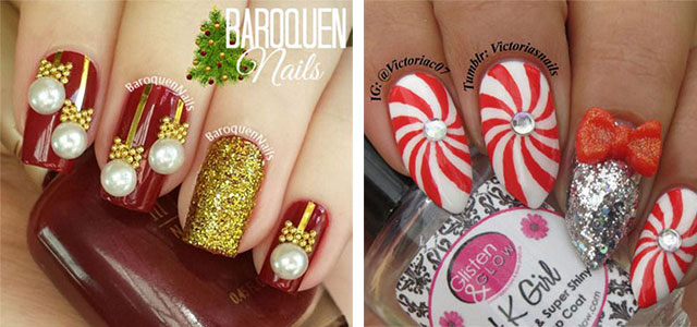 15 Christmas 3d Nail Art Designs Ideas 2016 Holiday Nails