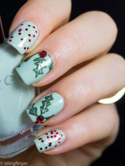 15-christmas-glitter-acrylic-nail-art-designs-2016-xmas-nails-11