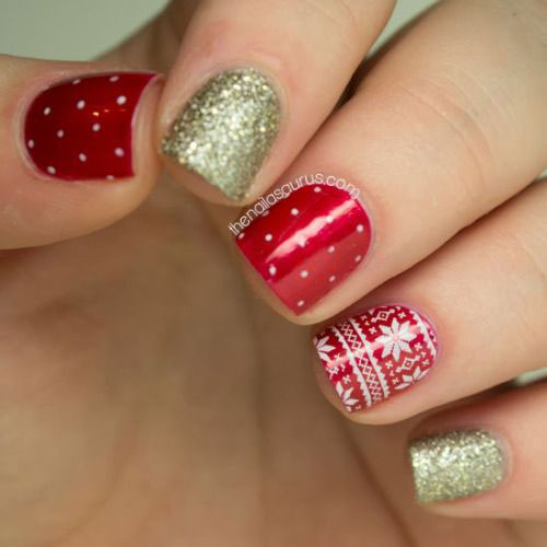 15-christmas-glitter-acrylic-nail-art-designs-2016-xmas-nails-14
