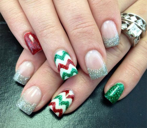 15-christmas-glitter-acrylic-nail-art-designs-2016-xmas-nails-2