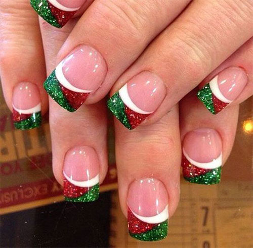 15-christmas-glitter-acrylic-nail-art-designs-2016-xmas-nails-3