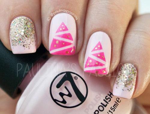 15-christmas-glitter-acrylic-nail-art-designs-2016-xmas-nails-6