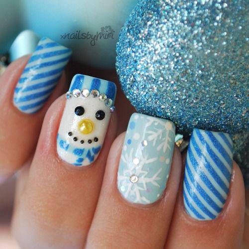 15-christmas-glitter-acrylic-nail-art-designs-2016-xmas-nails-9