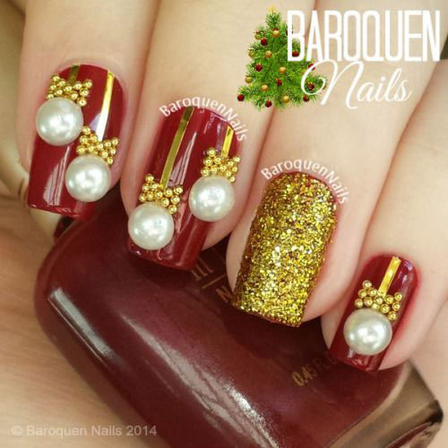 15-christmas-ornament-nail-art-designs-ideas-2016-xmas-nails-2