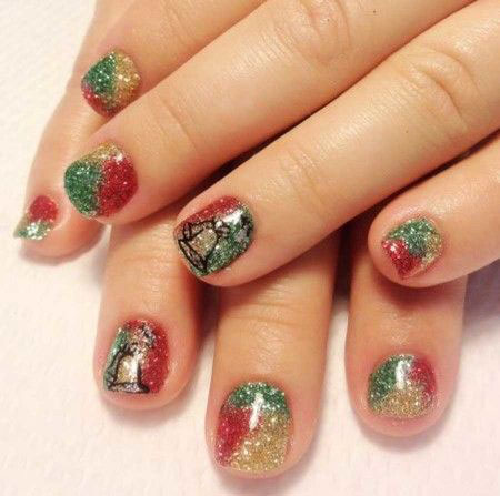15-christmas-snowman-nail-art-designs-ideas-2016-xmas-nails-1