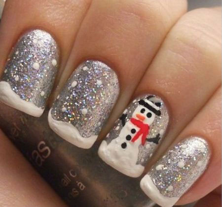 15-christmas-snowman-nail-art-designs-ideas-2016-xmas-nails-12