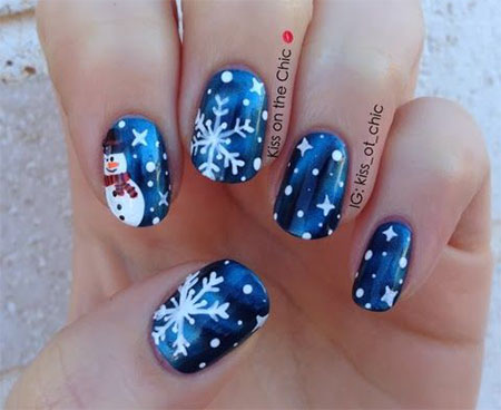 15-christmas-snowman-nail-art-designs-ideas-2016-xmas-nails-14