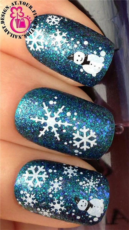 15-christmas-snowman-nail-art-designs-ideas-2016-xmas-nails-15
