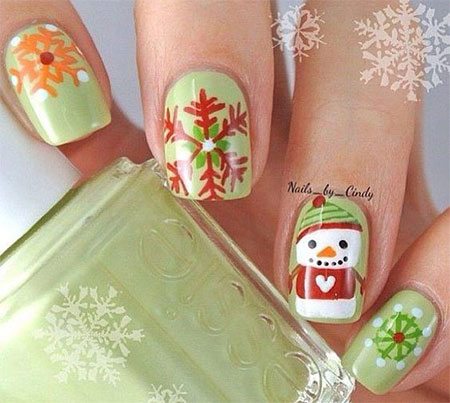 15-christmas-snowman-nail-art-designs-ideas-2016-xmas-nails-5