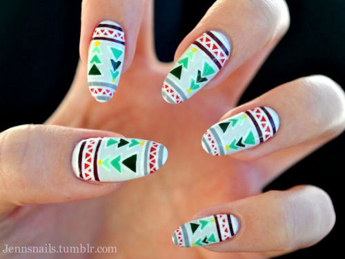 15-ugly-christmas-sweater-nail-art-designs-ideas-2016-13