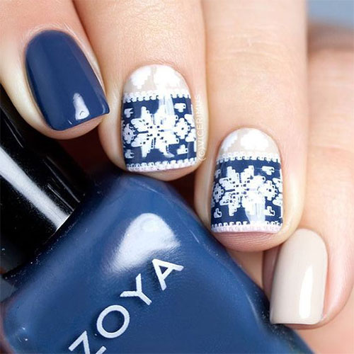 15-ugly-christmas-sweater-nail-art-designs-ideas-2016-2