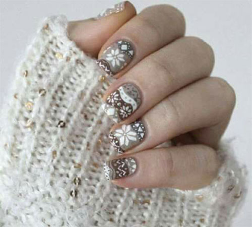 15-ugly-christmas-sweater-nail-art-designs-ideas-2016-6