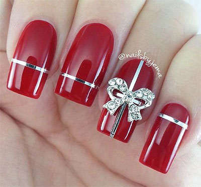 18-christmas-present-nail-art-designs-ideas-2016-xmas-nails-11