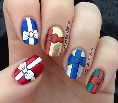 18-christmas-present-nail-art-designs-ideas-2016-xmas-nails-13