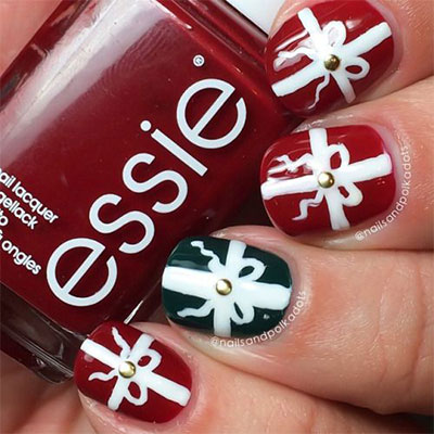 18-christmas-present-nail-art-designs-ideas-2016-xmas-nails-18