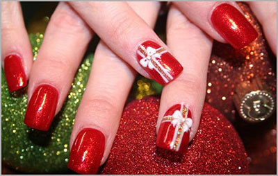 18-christmas-present-nail-art-designs-ideas-2016-xmas-nails-2