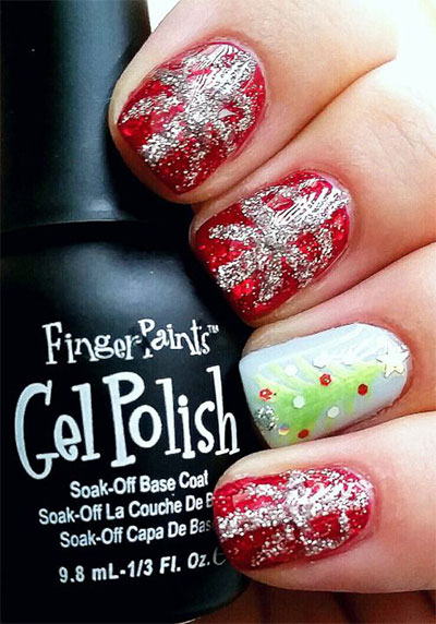 18-christmas-present-nail-art-designs-ideas-2016-xmas-nails-4