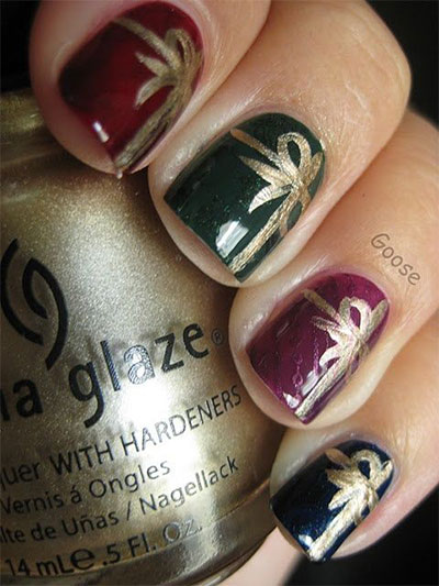 18-christmas-present-nail-art-designs-ideas-2016-xmas-nails-5