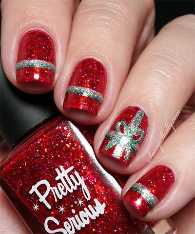 18-christmas-present-nail-art-designs-ideas-2016-xmas-nails-7